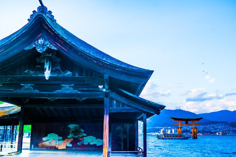 宮島 厳島神社 能舞台1