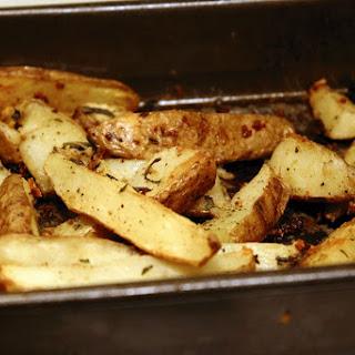 Garlic Sage Potato Wedges.