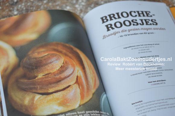 Meer meesterlijk brood Robert van Beckhoven Brioche roosjes
