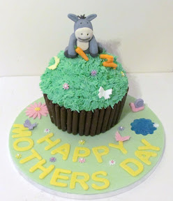Donkey Mother's day cake