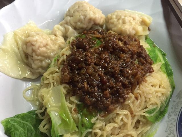 dumpling noodle in taipei taiwan