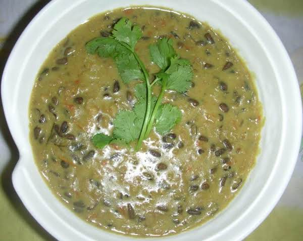 Daal Makhni (black Gram In Butter And Creme) Recipe