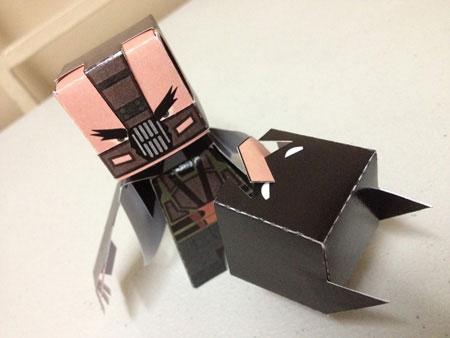 Dark Bane Paper Toy