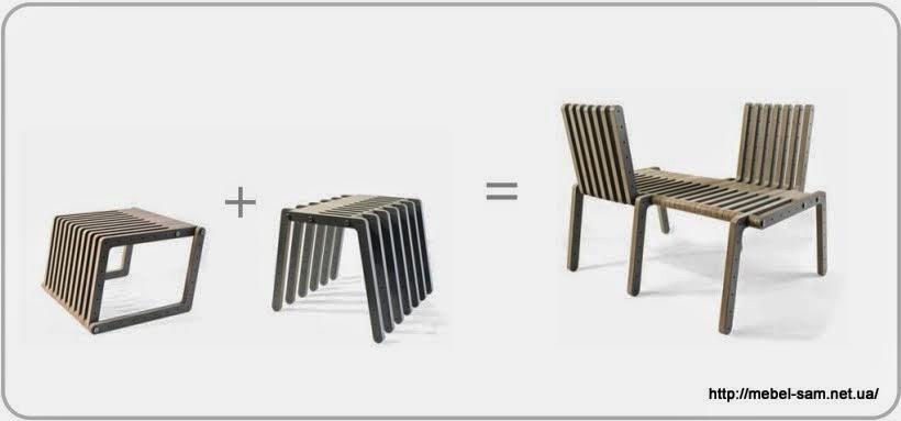 Один из вариантов объединения комплектов конструктора