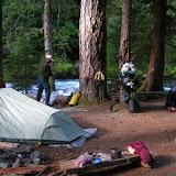 Old Goat campsite at Dose Forks
