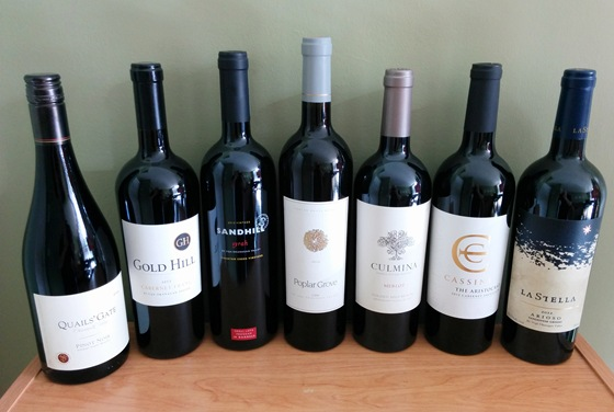 March 2016 BC wine collectibles