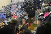 Mengejutkan, Satu Keluarga Ditemukan Tewas Tertimpa Tumpukan Baju