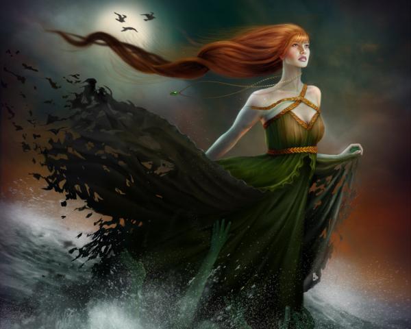 Magick Of Good Sorceress, Fantasy Girls 1