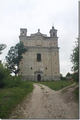 Великі Межирічі костел