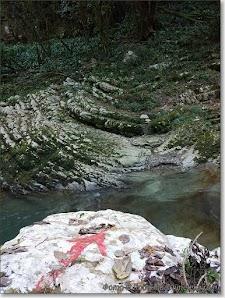 Указатель в каньоне