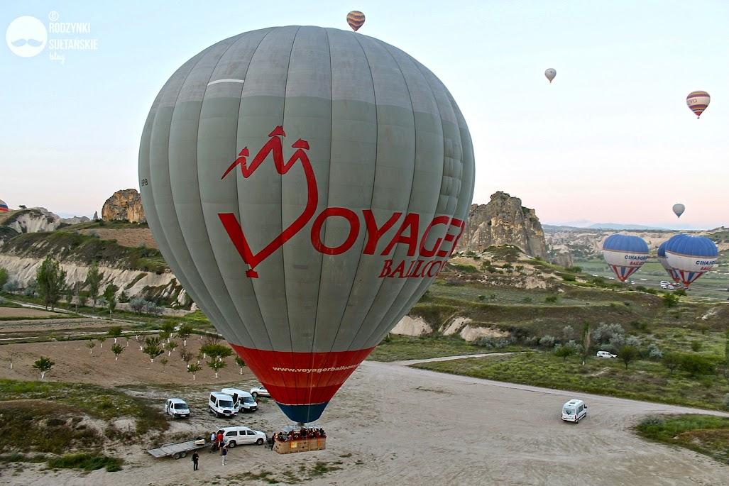 Lot balonem w Kapadocji - ile kosztuje? Ile trwa? Polecane firmy, ceny, opinie na blogu Rodzynki Sułtańskie