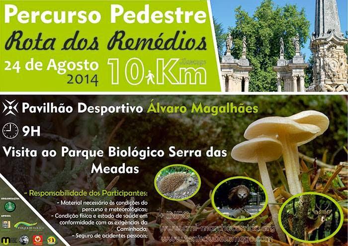 Percurso Pedestre - Rota dos Remédios - 24 de agosto de 2014