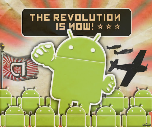 Android Propaganda 2 Android wallpaper by eyebeam