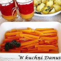 marchewka z masłem