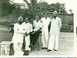 Sidhu, I K Kacker, Bharat Bhavan, PMB, Baldev Singh. Zeenat Mahal 1950's.jpg