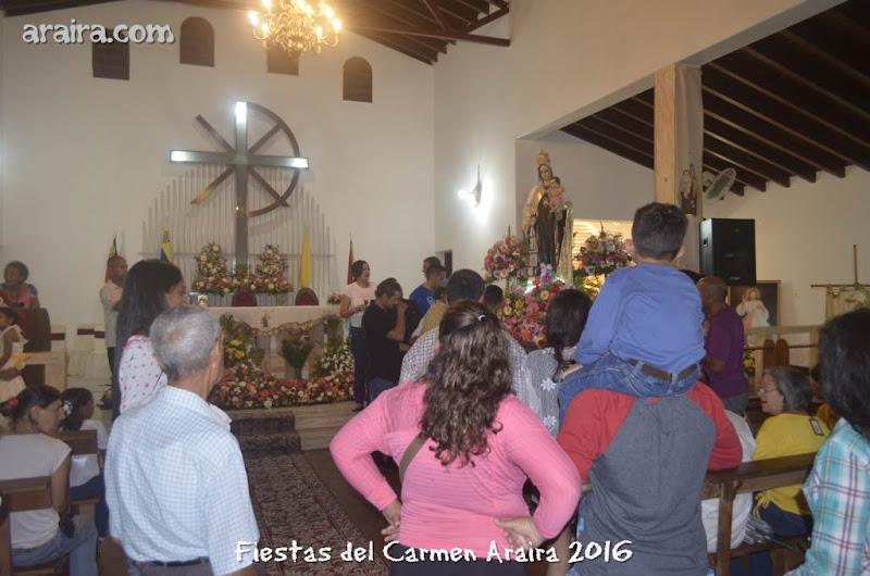 Procesión con la Virgen del Carmen 2016
