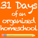 Organizing Homeschool Stuff