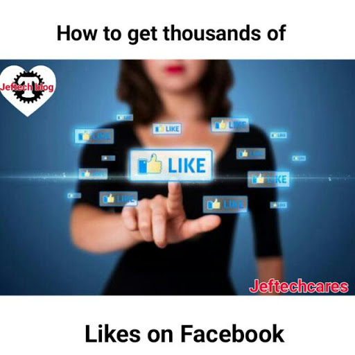How To Get Thousands Of Likes On Facebook For Free.