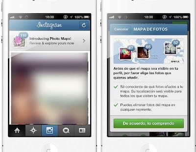 Llega Instagram 3.0 con mapas y scroll infinito