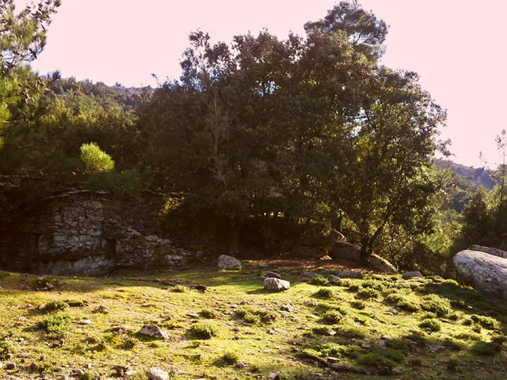 the 'square' of the 'lost village' in the mountains
