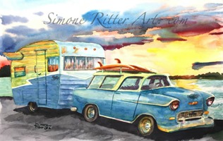 1955-Nomad-and-1963-Shasta-Airflyte