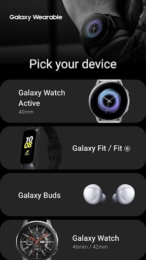 Galaxy Wearable (Samsung Gear) 2.2.24.19031361 screenshots 2