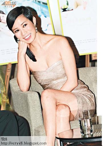 佘詩曼在中港兩地知名度極高,是不少電影公司的招攬對象。(資料圖片)