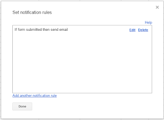 Google Form, email notification change - Google Product Forums