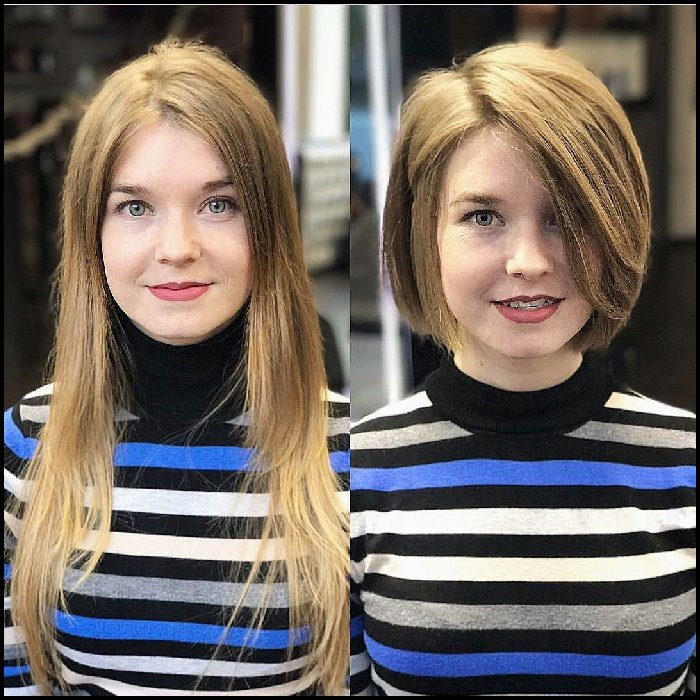 2018 Stylish Short Bob Haircuts That Balance Your Face Shape! - women short hairstyles 4