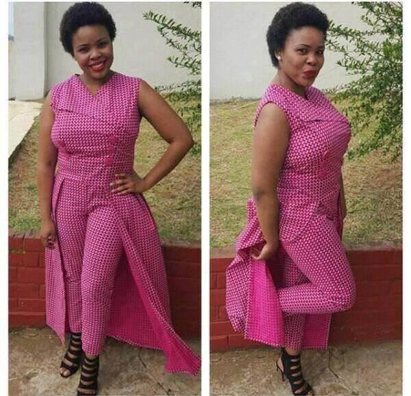 43fe8123ff shweshwe traditional dresses styleyou 2019 - style you 7