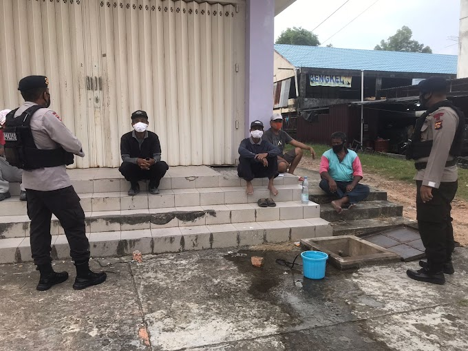 Cegah Kriminalitas, Brimob Kaltim Rutin Patroli di Pemukiman
