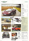 Classic and Sports Car magazine - Rowan Atkinson Mclaren F1 Special - Contents