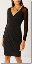 Coast wrap jersey dress
