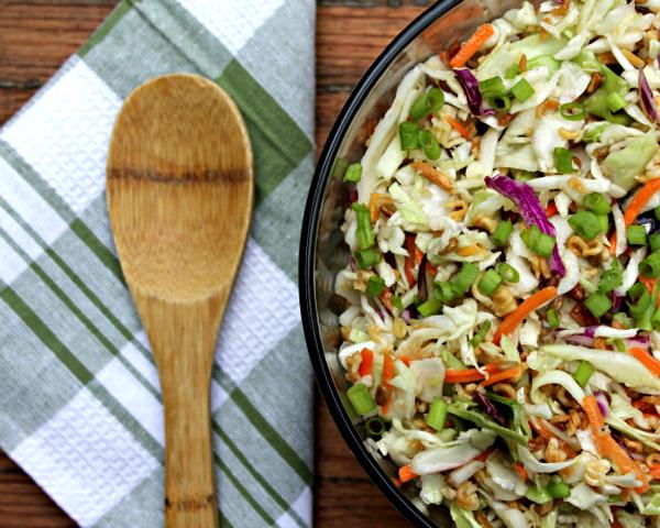 Ramen Noodle Slaw Salad
