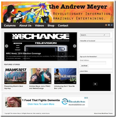TheAndrewMeyer.com website