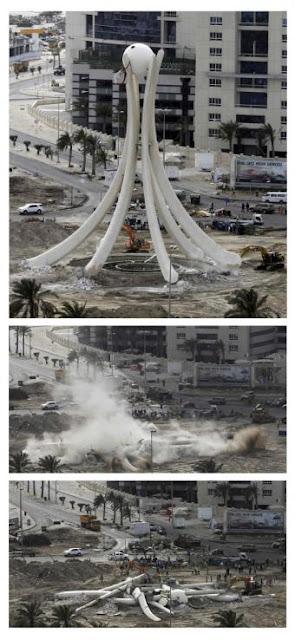 la proxima guerra secuencia bahrein destruye plaza perla