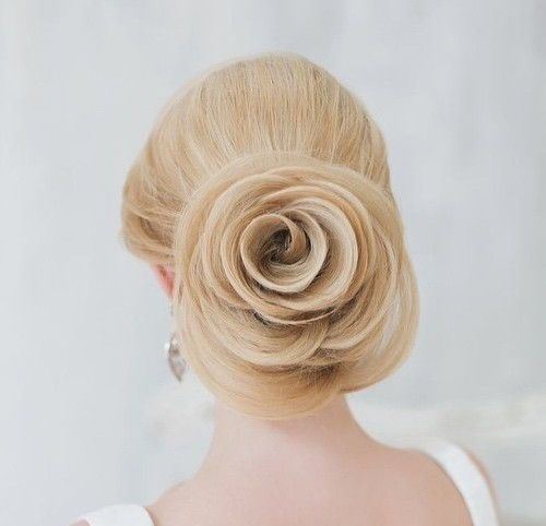 Top Smart Wedding Hair Updos In Current Year For Brides 2017-2018 14