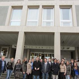 Rechtbankbezoek eerstejaars (8 november 2013)2013