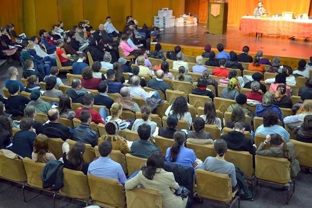 053 Avva Justin Parvu si Sfintii inchisorilor (Teatrul Luceafarul, Iasi, 2014.03.19)