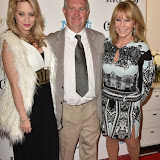 OIC - ENTSIMAGES.COM - Kimberly Wyatt, John Grimshaw Chairman of Dance World Cup  and Bonnie Lythgoe at the  2016 BLOCH Dance World Cup press launch in London 28th April 2016 Photo Mobis Photos/OIC 0203 174 1069
