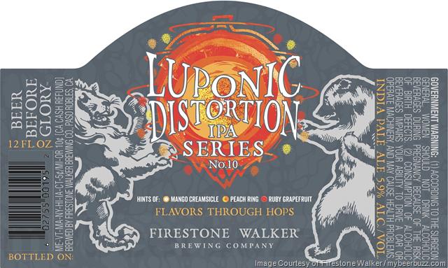 Firestone Walker Luponic Distortion IPA Series No 10