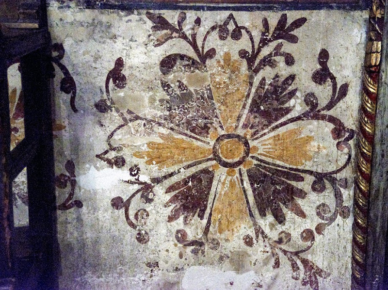 32. Ornament on the wall of The Monastery of Saint Naum. Ohrid