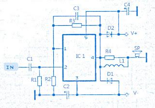 high power amplifier schematic
