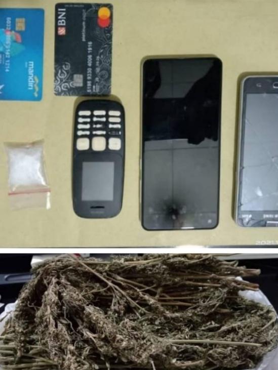 Satres Narkoba Polres Solok Ciduk Jaringan Antar Provinsi