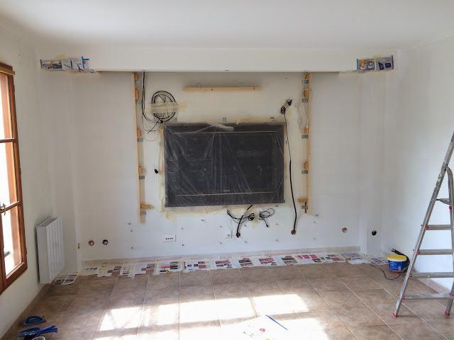 r novation compl te salon mur video et projecteur int gr page 4 30057653 sur le forum. Black Bedroom Furniture Sets. Home Design Ideas