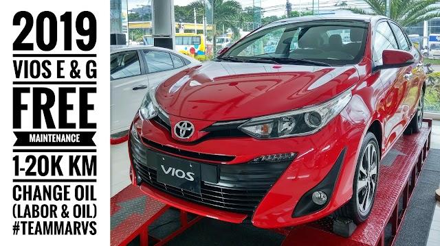 Promo: 2019 Vios - FREE Maintenance (Change-Oil) | Marvin Masongsong - Toyota Batangas