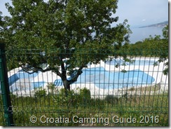 Croatia Camping Guide - Camp Klenovica Swimming Pools