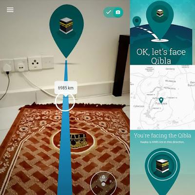 Best Guna Aplikasi Qiblafinder! Boleh Korang Cuba