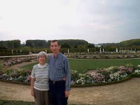 Mom and dad, Château de Versailles
