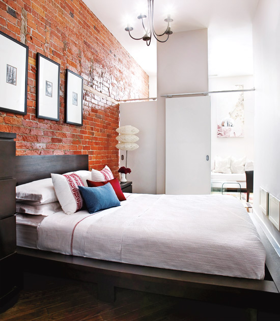Mix And Chic: Exposed Brick Walls Can Be Totally Chic